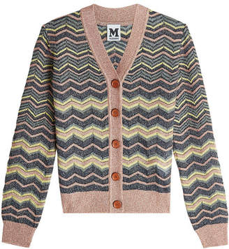 M Missoni Cardigan with Metallic Thread