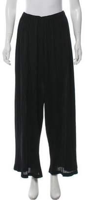 Pleats Please Issey Miyake High-Rise Wide-Leg Pants