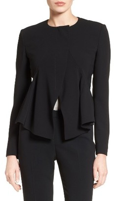 Women's Boss Jikita Asymmetrical Jacket $595 thestylecure.com