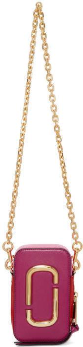 Marc Jacobs Pink Hot Shot Chain Bag