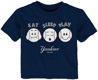 New York Yankees Outerstuff Eat, Sleep, Play T-Shirt, Infant Boys (12-24 Months)