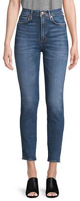 A Gold E AGOLDE Roxanne Super High-Rise Skinny Jeans