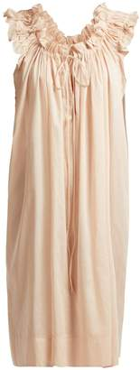 THREE GRACES LONDON Leonore ruffle-trimmed cotton dress