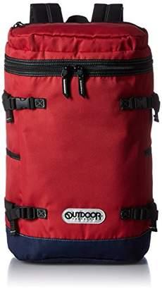 Outdoor Products (アウトドア プロダクツ) - [アウトドアプロダクツ] OUTDOOR PRODUCTS リュック Lサイズ(46cm) OUT-02 RD (レッド)