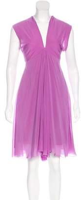 Just Cavalli Silk Embellished Dress