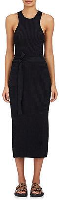 Helmut Lang Women's Cutout Wrap Dress $595 thestylecure.com