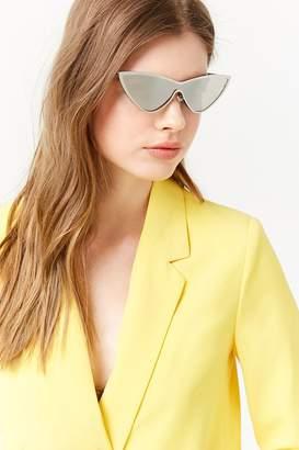 Forever 21 Metal Cateye Sunglasses