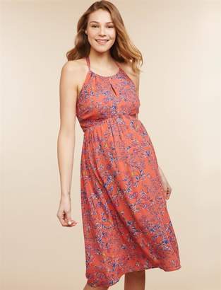 Jessica Simpson Motherhood Maternity A-line Maternity Dress