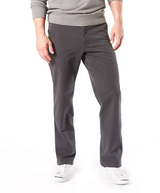 Dockers Straight Fit Downtime Khaki Smart 360 Flex Flat Front Pants
