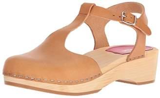 Swedish Hasbeens Women's T-Strap Debutant Sandal