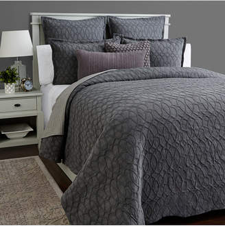 Hotel Collection Interlock Cotton Full/Queen Duvet Cover