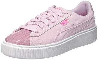at Amazon.co.uk · Puma Women s Suede Platform Street 2 WN s Low-Top Sneakers bb7478b86