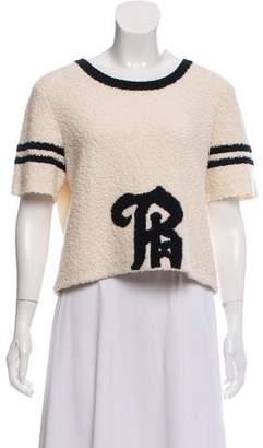 Band Of Outsiders Wool-Blend Crop Top
