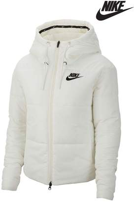 Nike Womens Synthetic Filled Jacket - Natural