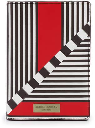 Henri Bendel West 57Th Blocked Centennial Stripe Passport Case