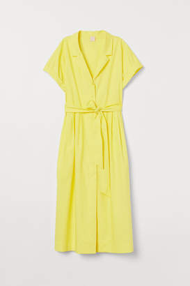 H&M Shirt Dress - Yellow