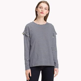 Tommy Hilfiger Molly Shoulder Frill Top