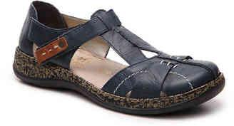 Women's Rieker Daisy 80 Flat -Navy $125 thestylecure.com