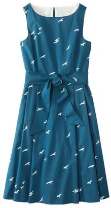 L.L. Bean L.L.Bean Women's Signature Poplin Dress, Print
