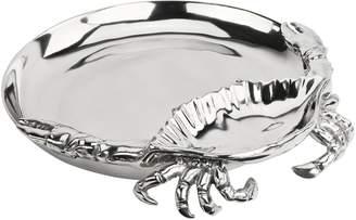 Arthur Court Crab Chip & Dip Serving Bowl
