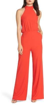 LuLu*s Moment for Life Halter Jumpsuit