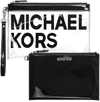 Michael Kors MICHAEL Pouches & Clutches Travel Set, Black