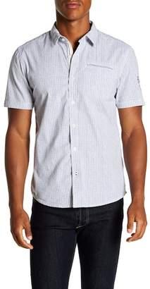 ProjekRaw Projek Raw Microdot Short Sleeve Modern Fit Shirt