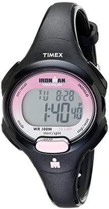 Timex Women's T5K522 Ironman Essential 10 Mid-Size Resin Strap Watch