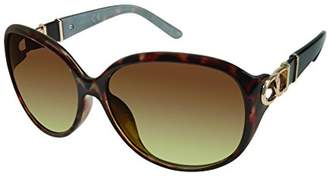 Elie Tahari Women's Th546 Ts Round Sunglasses