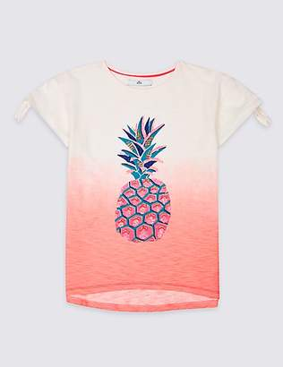 Marks and Spencer Pure Cotton Pineapple Top (3-16 Years)