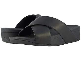 FitFlop Lulu Cross Slide Leather Sandal