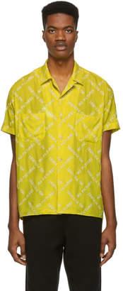 Nasaseasons Yellow No Pictures Bowling Shirt