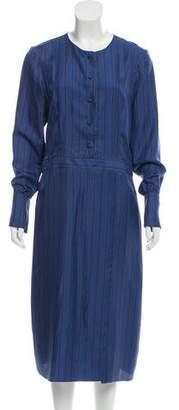 Protagonist Silk Midi Dress
