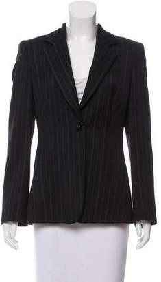 Armani Collezioni Striped Wool Blazer