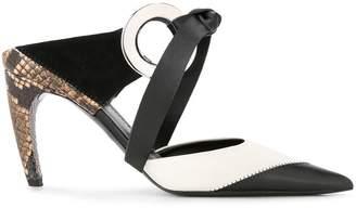 Proenza Schouler Grommet High Heel Mules