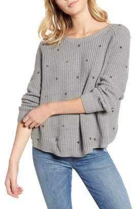 Wildfox Couture Erika Beaming Stars Sweater