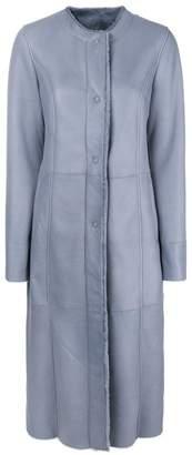 Drome classic zipped coat