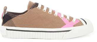 Burberry England Checked Sneakers