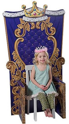 Generic Child Size Medieval Throne