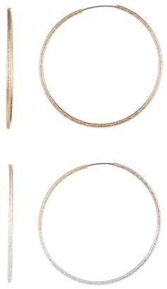 BaubleBar Estelle Hoop Earrings Set