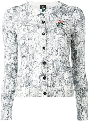 Ps By Paul Smith cactus sketch print cardigan $395 thestylecure.com
