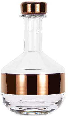 Tom Dixon Tank whisky decanter