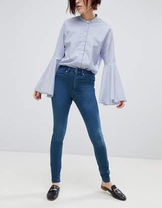 Asos DESIGN 'Sculpt me' high rise premium jeans in eden