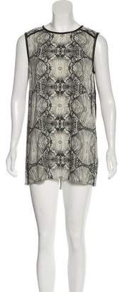 J Brand Printed Mini Dress