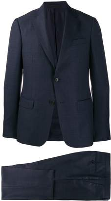 check pattern formal suit