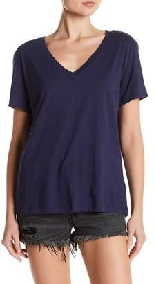Nation LTD Classic Distressed V-Neck Tee $77 thestylecure.com