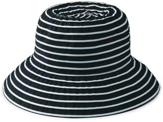 Co San Diego Hat Striped Ribbon Braid Bucket Hat