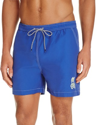 Psycho Bunny Solid Swim Trunks $95 thestylecure.com