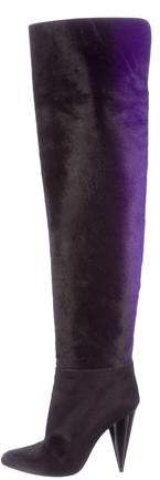 Tom Ford Ombré Over-The-Knee Boots