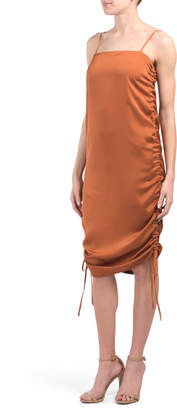 Australian Designed Ruched Slip Dress